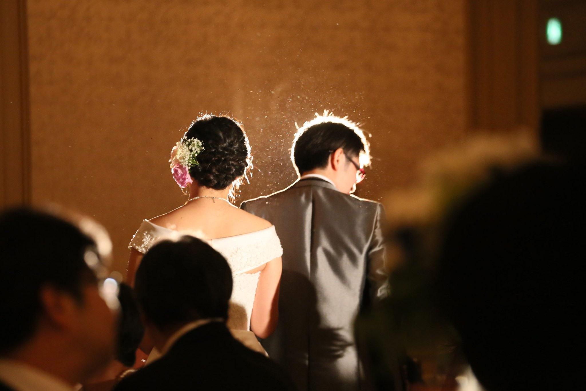 式中での撮影